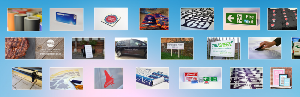 Bespoke products to help you promote your business!