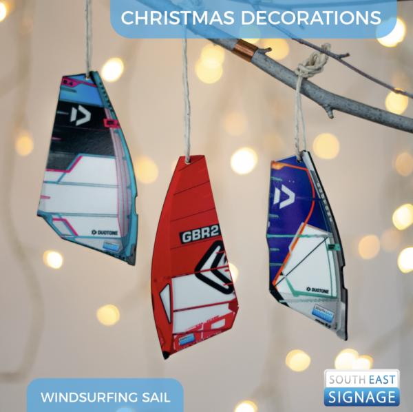 windsurfingsailchristmastreedecorations