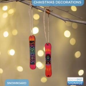 customsnowboardxmastreedecoration